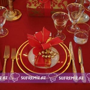 - Christmas Tablescapes 131 300x300 - Yeni il üçün süfrə bəzəkləri