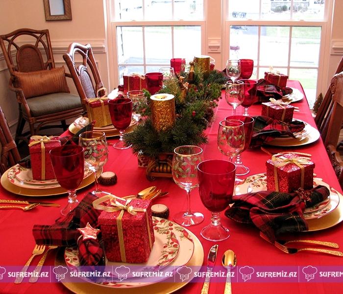 - Christmas table decoration ideas Ideal Home - Yeni il üçün süfrə bəzəkləri